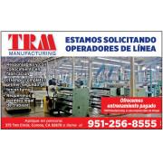 SOLICITAMOS OPERADORES DE LINEA job image