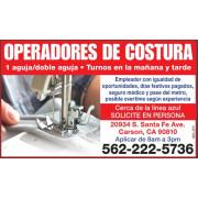 OPERADORES DE COSTURA job image