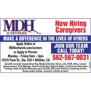 HIRING CAREGIVERS job image