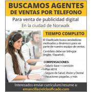 EL CLASIFICADO SOLICITA AGENTES job image